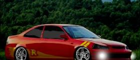 Riced 1996 Honda Civic Coupe