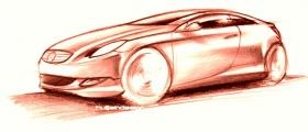 2007 MB Sportcoup� - quick sketch