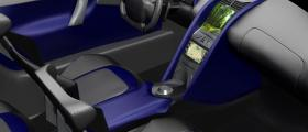 Interior design of the SUV