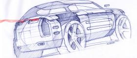 Project 06 (Rear Angle) Sketch