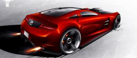 Ford Mustang concept - rear