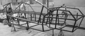Chassis almost finished for paint