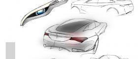 Jaguar XJ sketches