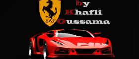 The new ferrari design by khalfi oussama