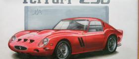 Ferrari 250 GTO illustration