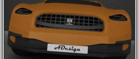 Concept car body &#34DoDge&#34